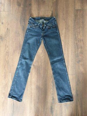 Mavi Jeans Co. Pantalon pattes d'éléphant bleu acier