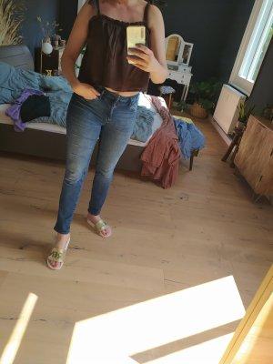 Mavi Jeans Co. Jeansy z prostymi nogawkami niebieski