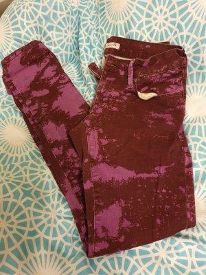 Mavi Jeans Co. Pantalon cinq poches violet-violet foncé