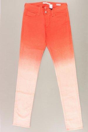 Mavi Jeans Modell  Serena, super Skinny Größe W27/33 orange aus Baumwolle