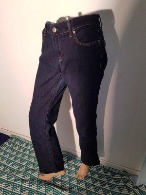 Mavi Jeans Mona Mid Straight Leg Gr 32/30 Indigo neuwertig