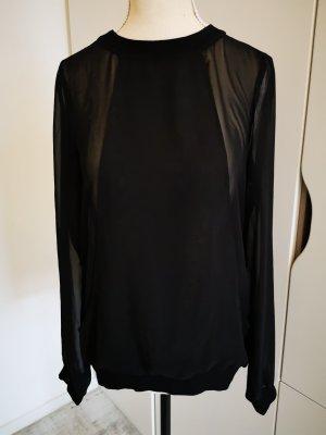 Mavi Jeans Oberteil Shirt Bluse Gr.XS neu mit Etikett schwarz