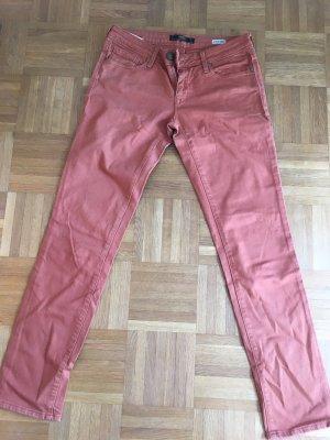 Mavi Jeans Rostfarbene Jeans