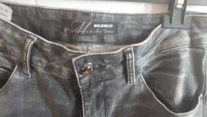 Mavi Jeans slim noir-gris
