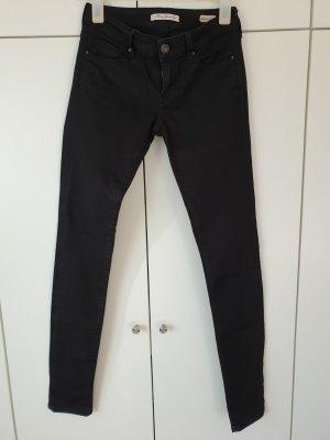 Mavi Jeans Super skinny schwarz