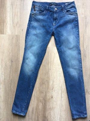 mavi UPTOWN Straight Leg Jeans blue cotton