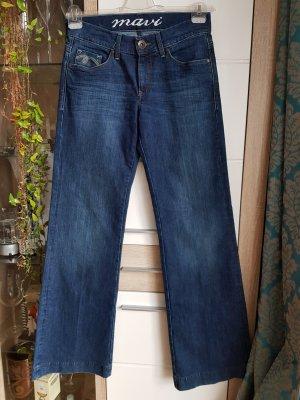 Mavi Jeans Co. Jeansy z prostymi nogawkami ciemnoniebieski