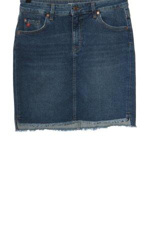 Mavi Gonna di jeans blu stile casual