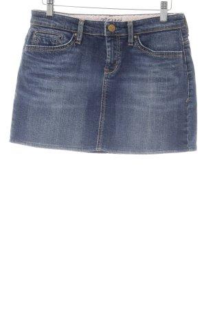 Mavi Jeansrock stahlblau Farbverlauf Casual-Look