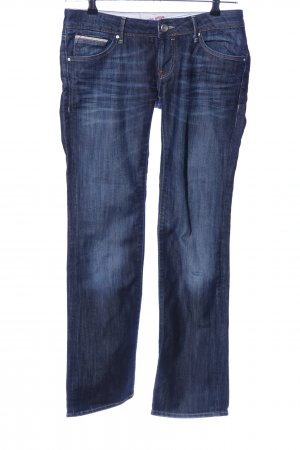 Mavi Jeansschlaghose blau Casual-Look