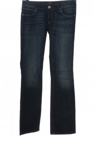 Mavi Boot Cut Jeans blau Casual-Look