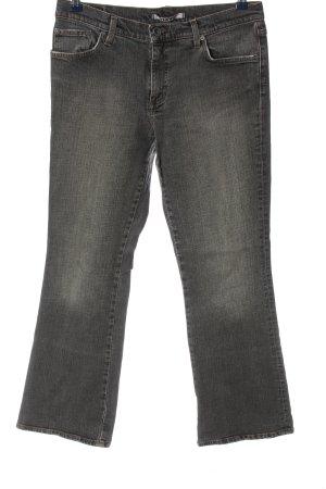 Mavi Jeansschlaghose schwarz Casual-Look