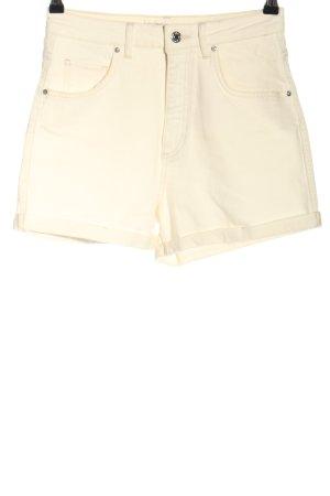 Mavi Short en jean crème style décontracté