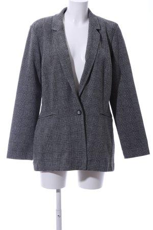 Mavi Blazer in jersey grigio chiaro motivo a quadri stile professionale