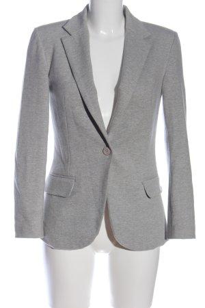 Mavi Jersey Blazer gris claro moteado look casual