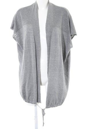 Mavi Cardigan à manches courtes gris clair imprimé allover style décontracté