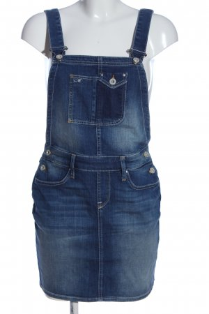 Mavi Pinafore Overall Skirt blue casual look