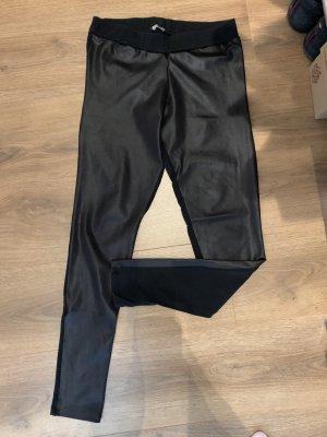 Mavi Leggins schwarz Leder Look Optik M 38