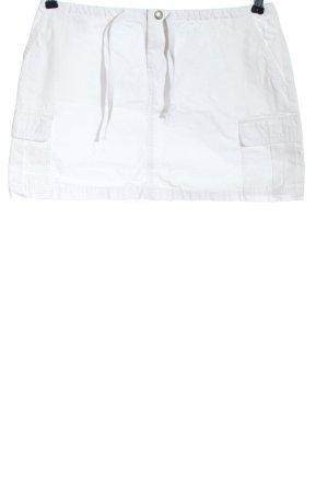Mavi Minigonna bianco stile casual