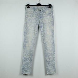 Mavi Mod. Serena Jeans Gr. 27 blau weiß gemustert (19/11/498*)