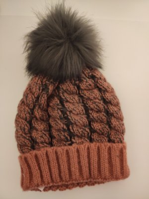Mavi Knitted Hat apricot-anthracite