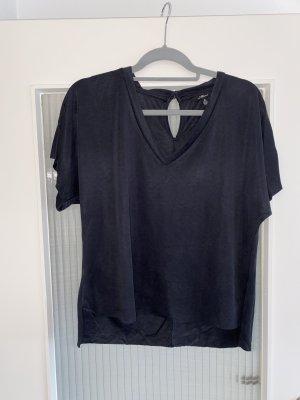 Mavi Jeans Co. Cut Out Top black