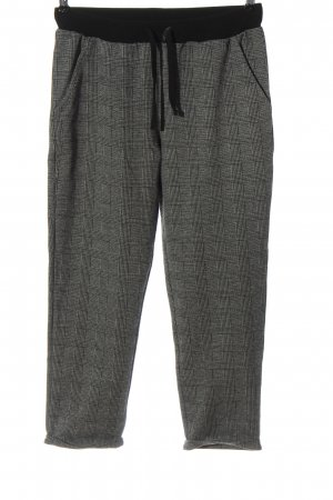 Mavi Paperbag Trousers light grey check pattern casual look