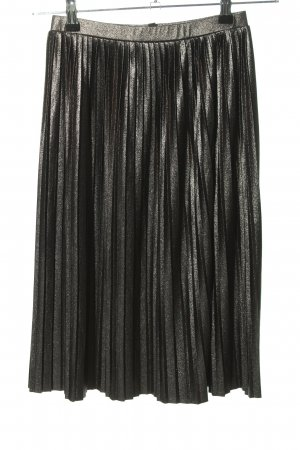 Mavi Pleated Skirt silver-colored elegant