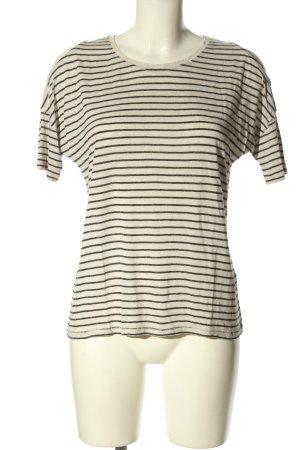 Mavi Ringelshirt weiß-schwarz Streifenmuster Casual-Look