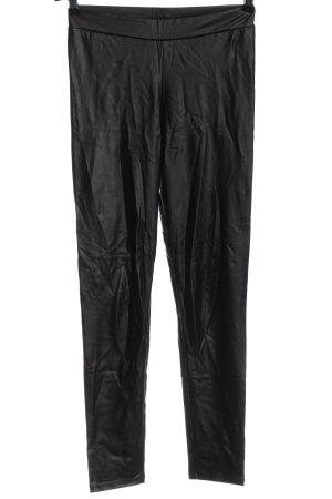 Mavi Pantalón de tubo negro estilo sencillo