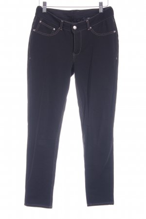 Mavi Röhrenhose schwarz-beige Casual-Look