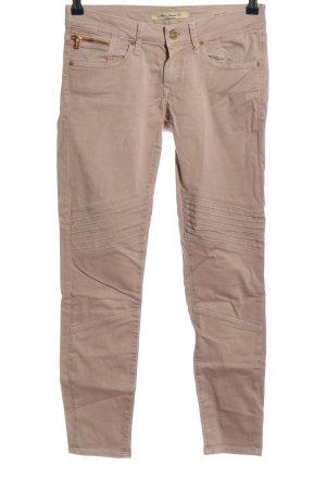 Mavi Jeans slim crème style décontracté