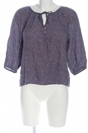 Mavi Slip-over Blouse blue-red abstract pattern business style