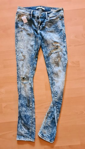 Mavi Serena Ankle Jeans  destroyed ripped sommer boho Bohemian Hippie Ibiza