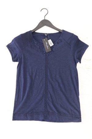 Mavi Shirt mit Spitze Größe S neu mit Etikett Kurzarm blau aus Modal
