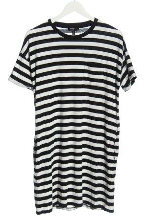 Mavi Shirt Dress white-black striped pattern casual look
