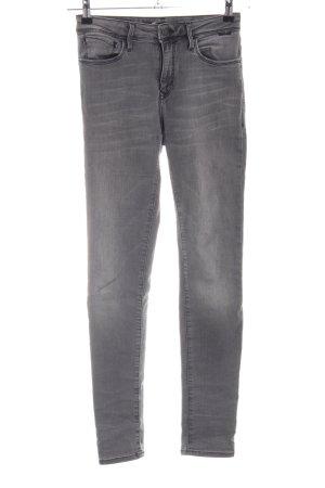 Mavi Skinny Jeans hellgrau Casual-Look