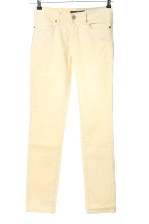 Mavi Skinny Jeans creme Casual-Look