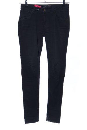 Mavi Skinny Jeans schwarz Casual-Look