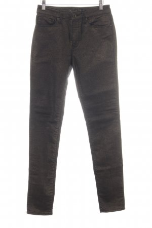 Mavi Skinny Jeans braun Allover-Druck Casual-Look