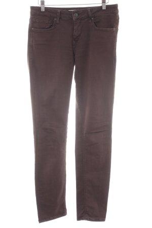 Mavi Skinny Jeans braun-graubraun Casual-Look