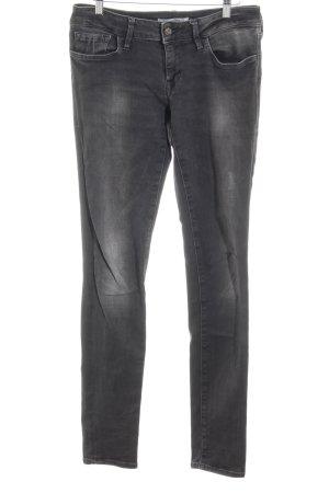 Mavi Skinny Jeans grau Casual-Look