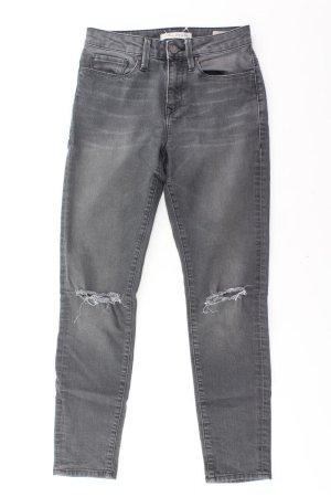 Mavi Skinny Jeans Größe W26 grau aus Baumwolle