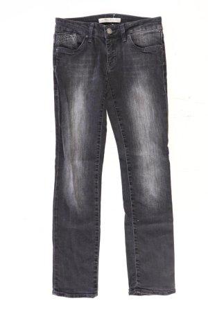 Mavi Skinny Jeans Größe W27 grau aus Baumwolle