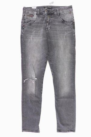 Mavi Skinny Jeans Größe W28 grau aus Baumwolle
