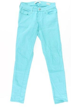 Mavi Skinny Jeans Größe W28/L32 türkis aus Baumwolle