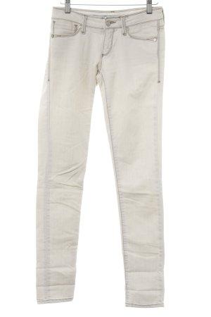 Mavi Skinny Jeans hellgrau Jeans-Optik
