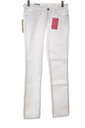 Mavi Slim Jeans weiß Casual-Look