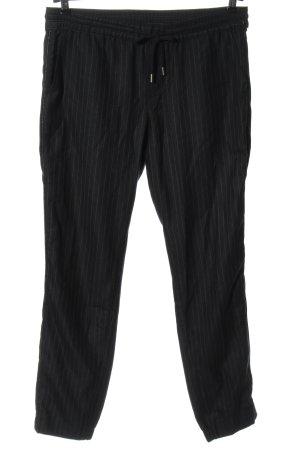 Mavi Jersey Pants black-light grey striped pattern casual look