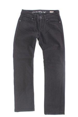 Mavi Straight Jeans Größe W27/L32 schwarz aus Baumwolle